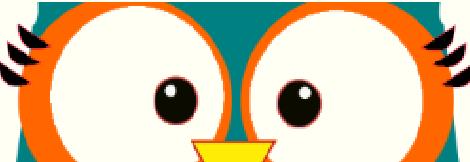 blogger banner owl head